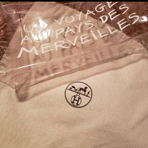 Hermes Clear Bag.... Authentic
